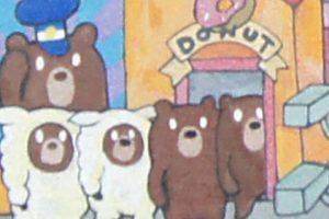 original painting (except) courtesy of hotdogandbun