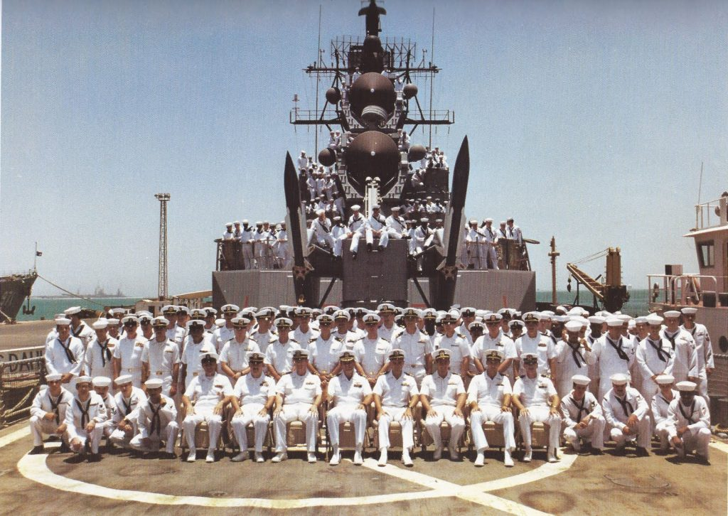 family photo USS Dahlgren DDG-43 courtesy C Dough Kenney
