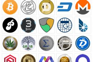 altcoin logos