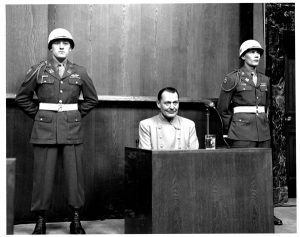 hermann-goering-on-witness-stand